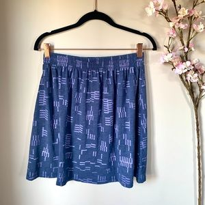 GENTLE FAWN / PATTERNED PULL ON MINI SKIRT